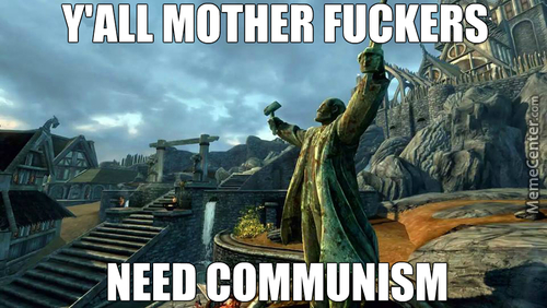 Skyrim Belongs To The Soviets!