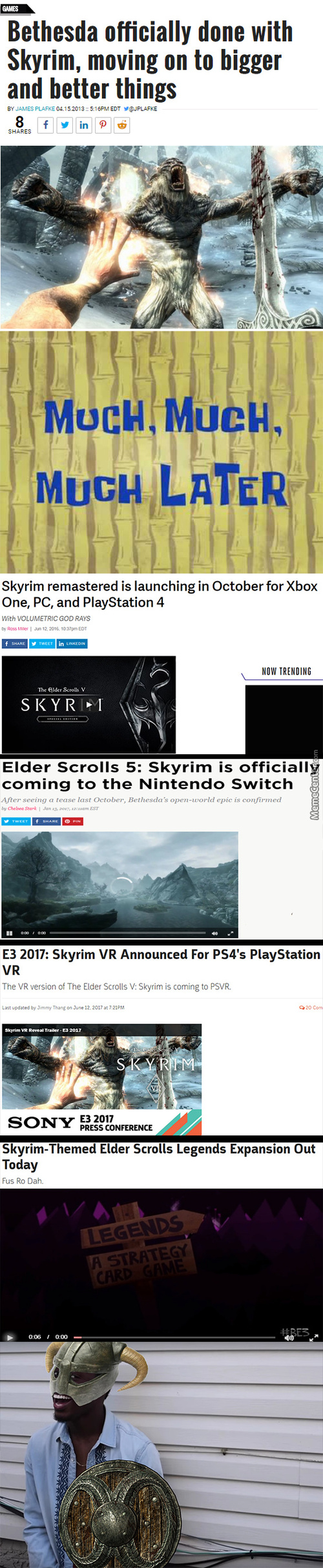 Skyrim For Phones When ?