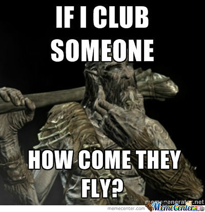 Skyrim Giant Logic