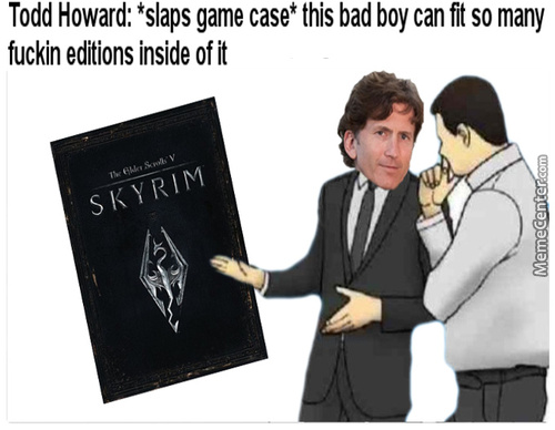 Skyrim: Super Ultra Mega Deluxe Special Edition Mk. Ii, Now On Gamecube