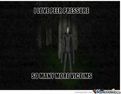 Slenderman Feels Love