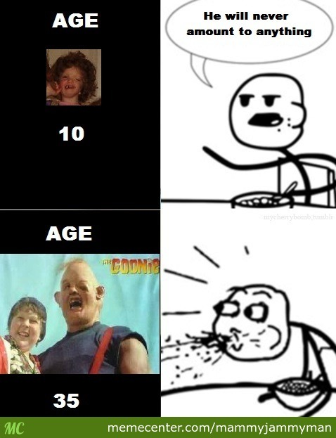 sloth is real the goonies forever_o_2570477 sloth is real! the goonies forever! by mammyjammyman meme center