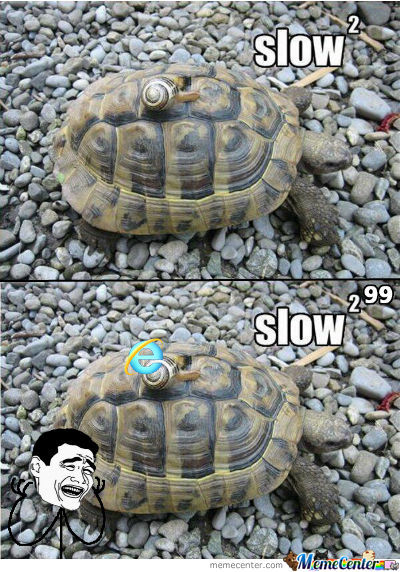 Slow ? Please...