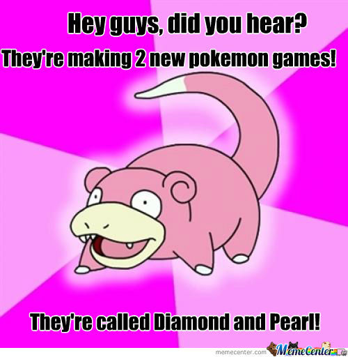 Slowpoke Black 2 White 2