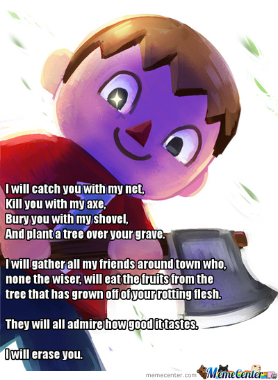 Smash Bros' Villager