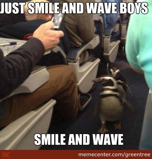 Smile And Wave!