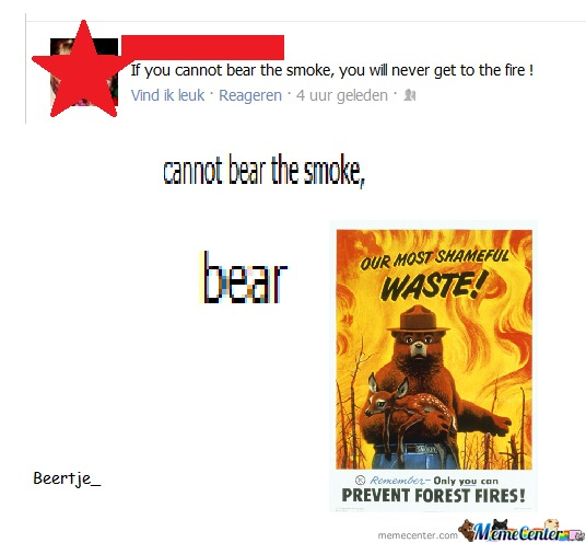 Smoke The Bear