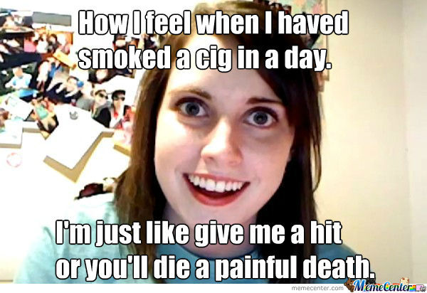 smoking a cigarette_o_962550 smoking a cigarette by carfball meme center