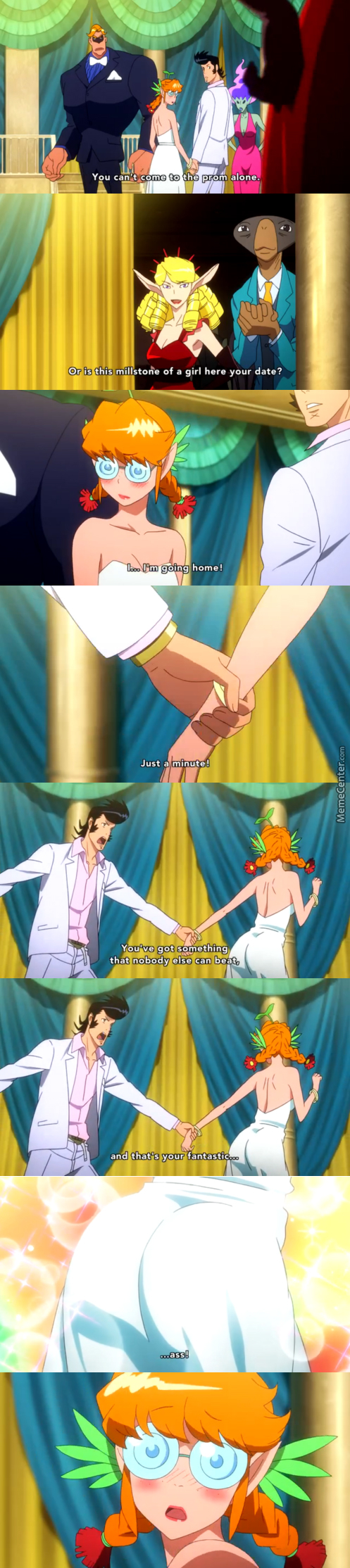 Smooth Dandy. (Anime: Space Dandy )