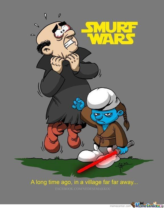 Smurf Leads To Pain