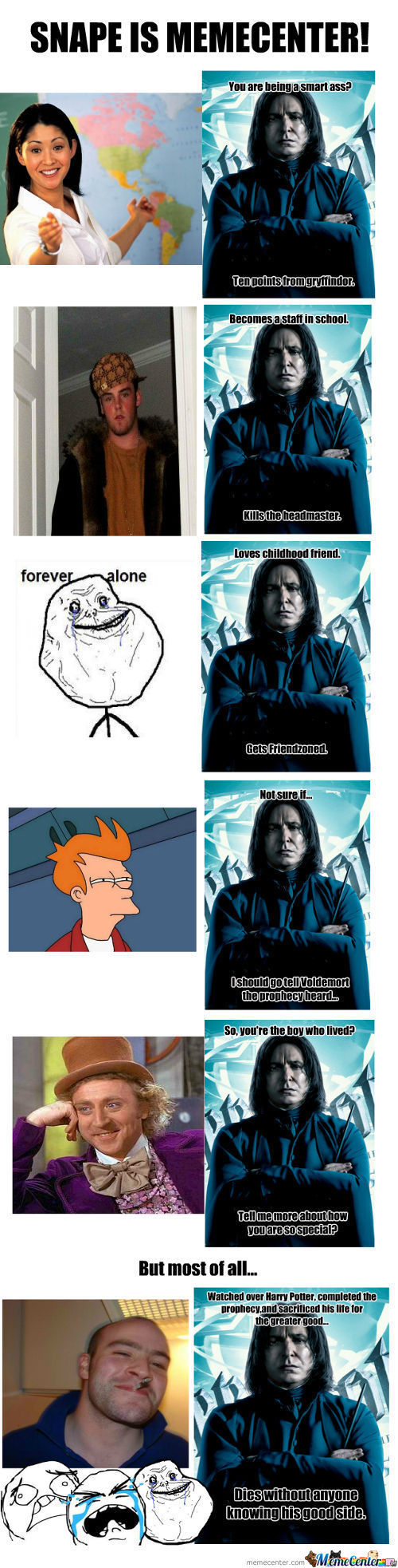 Snape Is Memecenter!