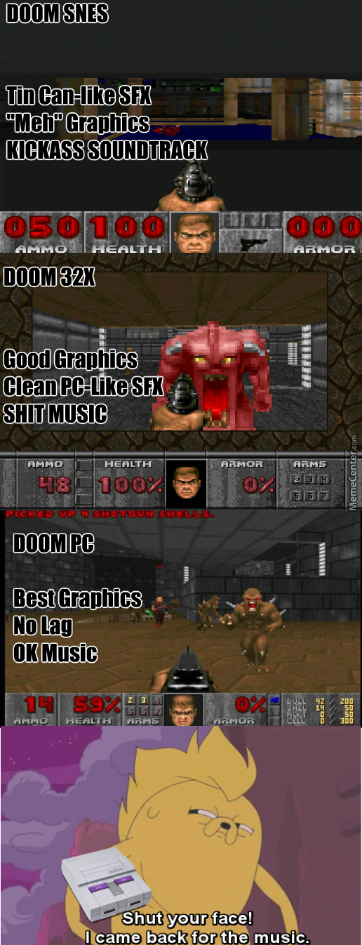 Snes Version Had The Best Music Imo