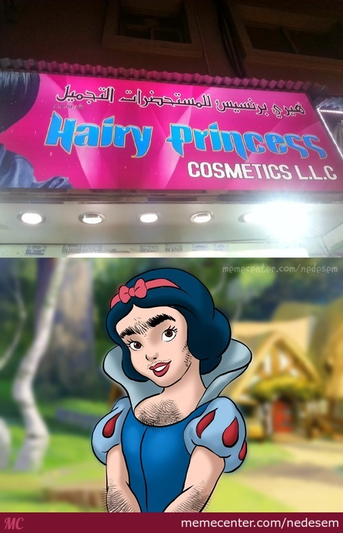 Snow White And The Seven Hairdressers