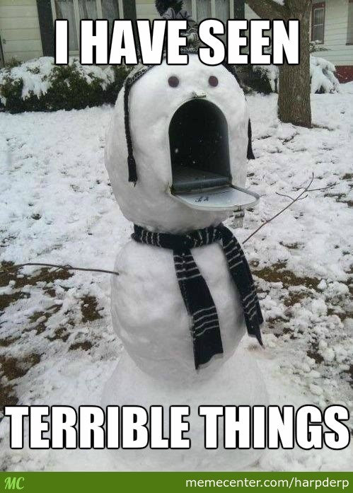 Snowmail Seeing Terrible Things