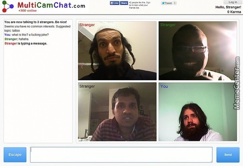 So An Arab, An African American, An Indian And Jesus Log Into A Chat...