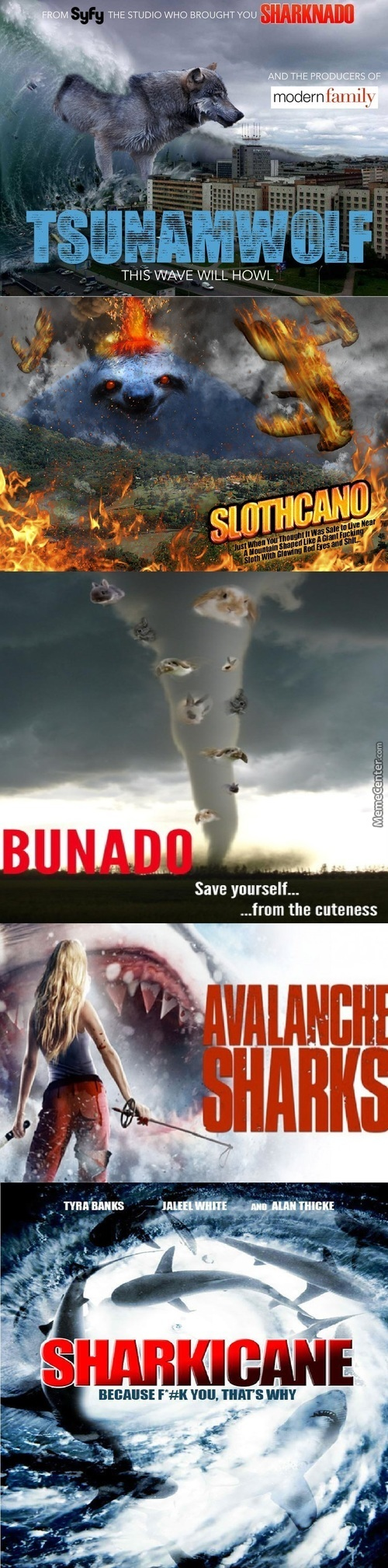 So I Found Some Sharknado Parodies In The Internet.