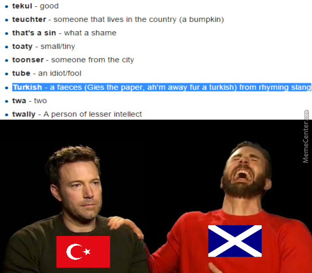 So I Was Looking At Scottish Slang    by splitcell - Meme Center