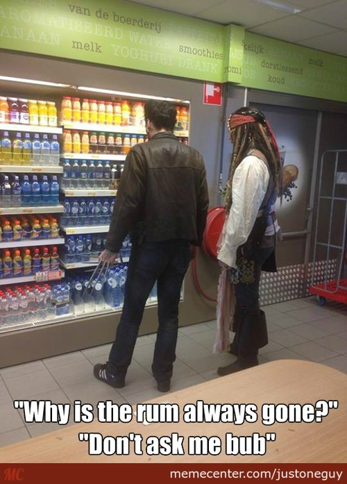 So Jack Sparrow And Wolverine Walk Into A Store...
