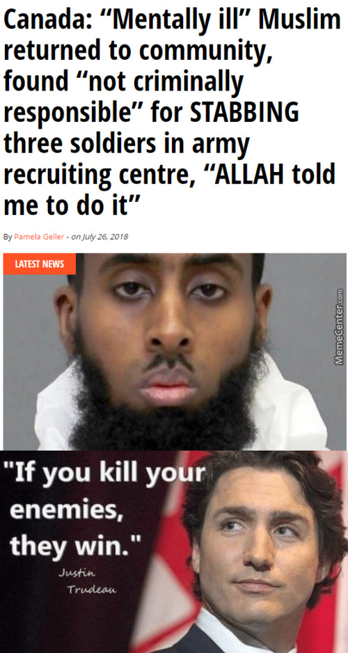 So Much Winning - Canada Thinks Religion Is A Mental Illness