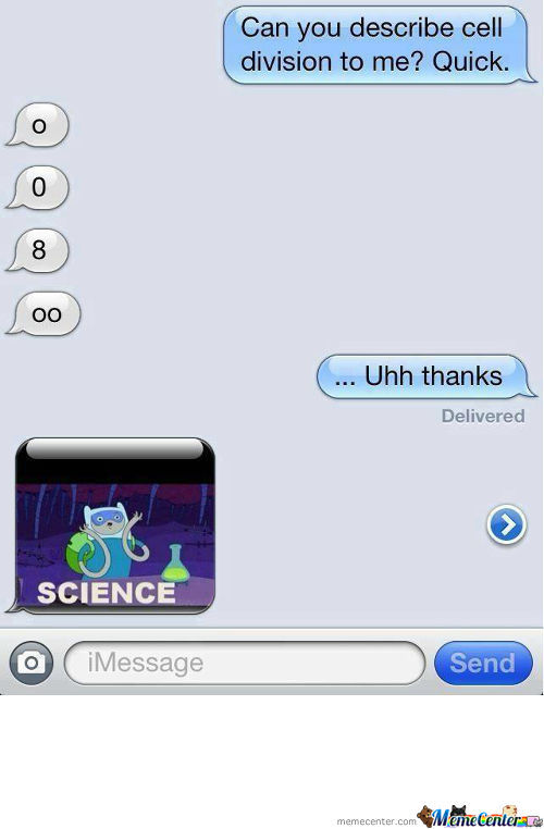So, My Friend Helped Her Other Friend In Biology, Well Played.