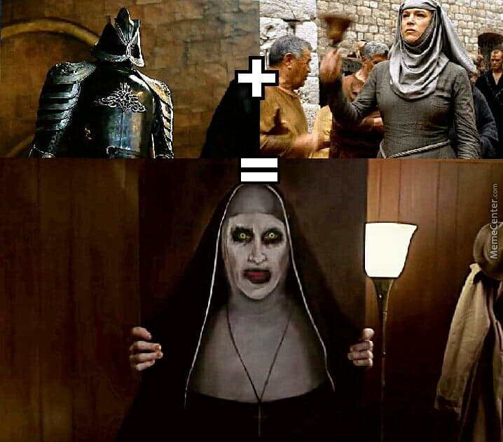 21 Hilarious Game Of Thrones Memes That Even The Shame Nun: So That's What Happened After... By Potterheadjocelyn