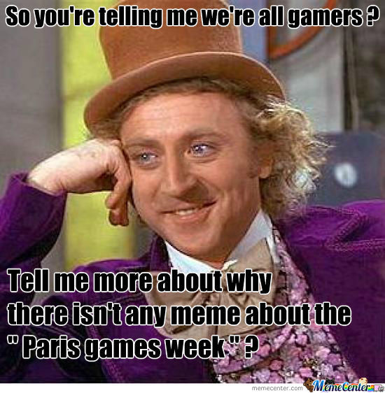 So We're All Gamers ?