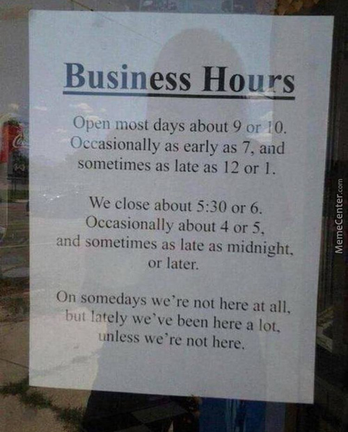 - So When Do We Open? = Just Fuck Me Up - Say No More