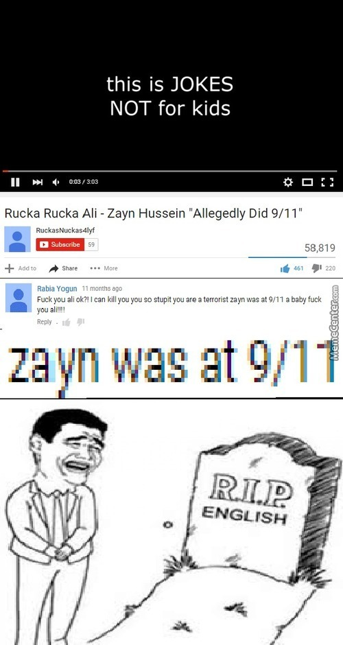 So You're Telling That Zayn Did 9/11