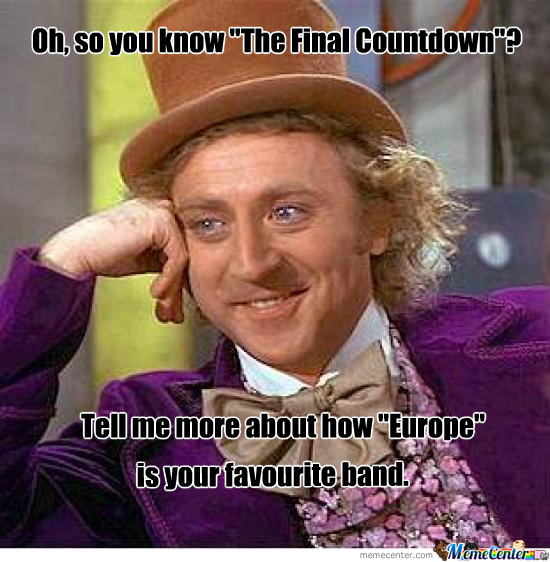 so you know the final countdown_o_296224 so you know the final countdown by recyclebin meme center,Count Down Meme