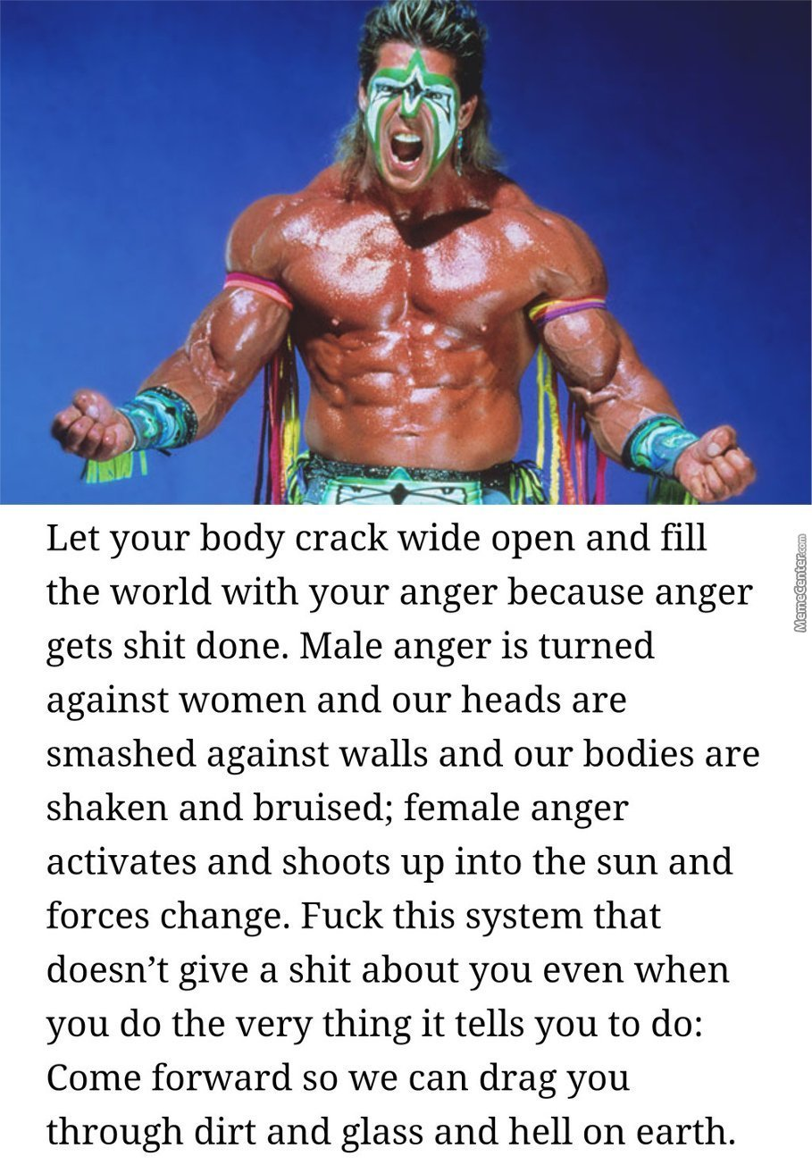 Social Justice Ultimate Warrior by sterd - Meme Center