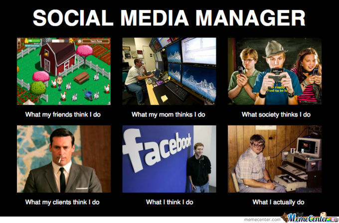social media manager_o_668608 social media manager by oussamari meme center