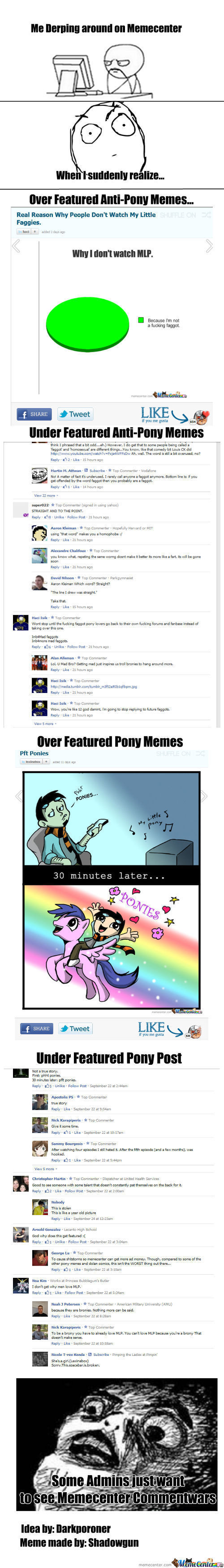 Some Admins Just Want To See Memecenter Commentwars