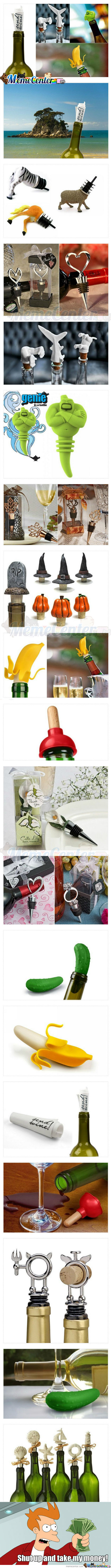 Some Awesome Wine Stopper