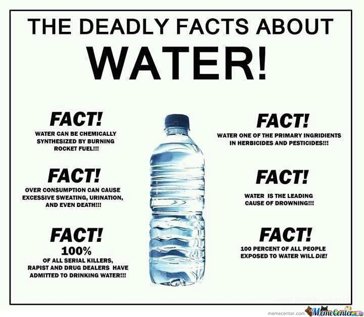 Some Deadly Water Facts
