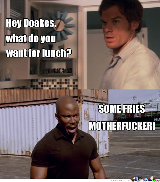 Some Fries Motherf**ker