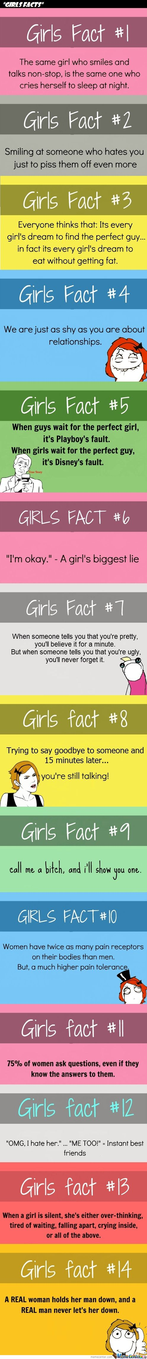 Some Girls Facts For You