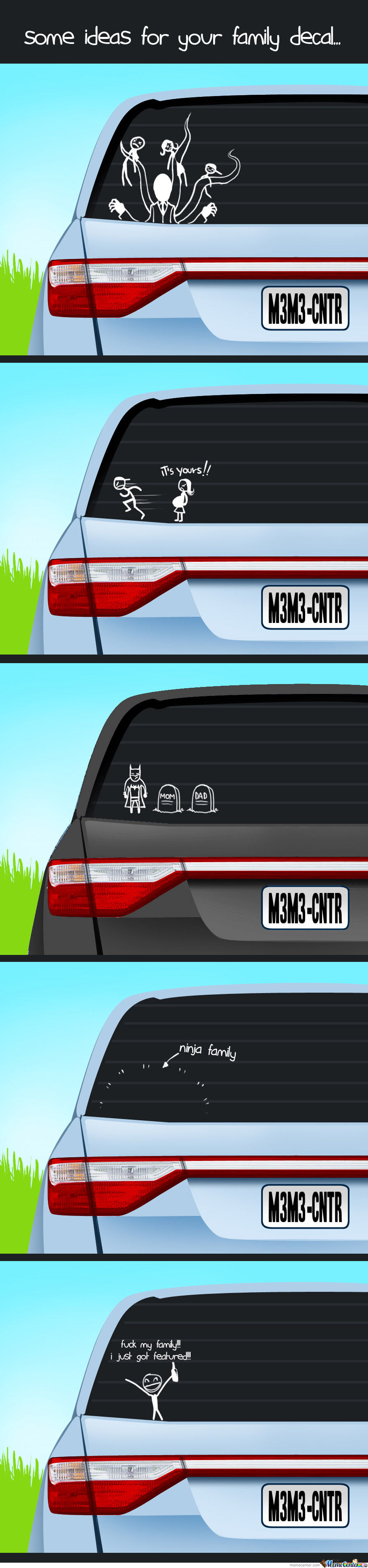Some Ideas For Your Family Decal