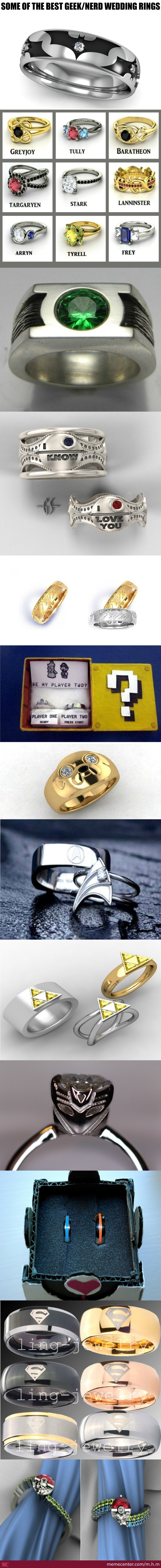 rings nerdy wedding weird with patsveg mens ring and bolt crazy bands togeteher nerd com of nut