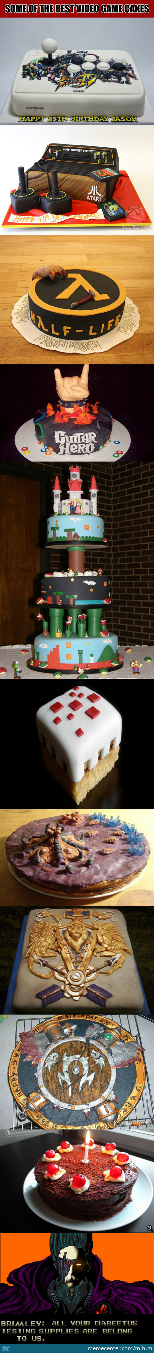 Some Of The Best Video Game Cakes