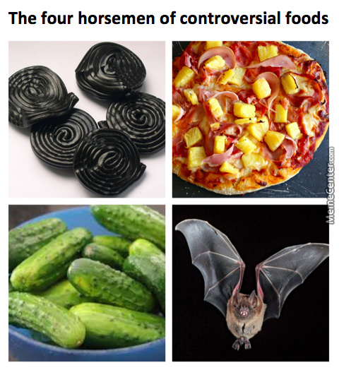 Some People Go Batshit Crazy Over These Foods