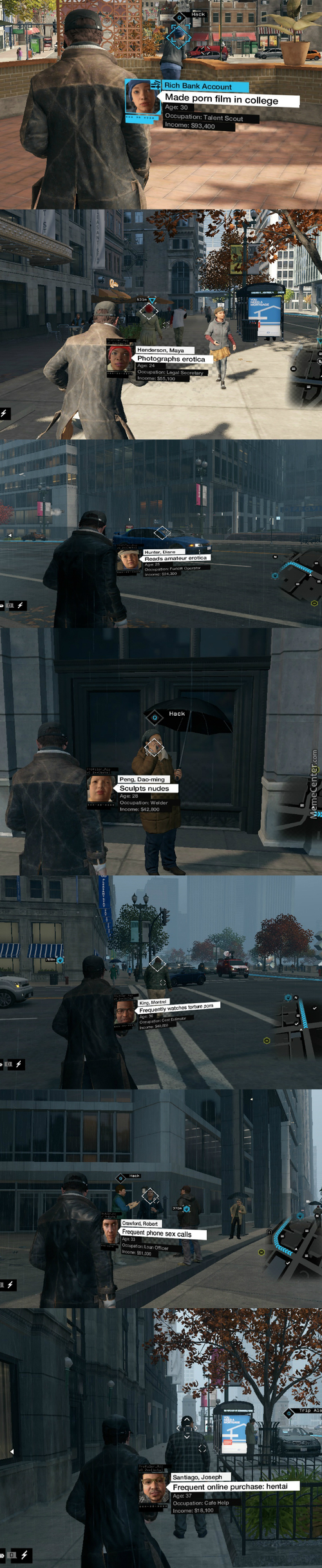 Some People In Watch_Dogs Are Pervert!!