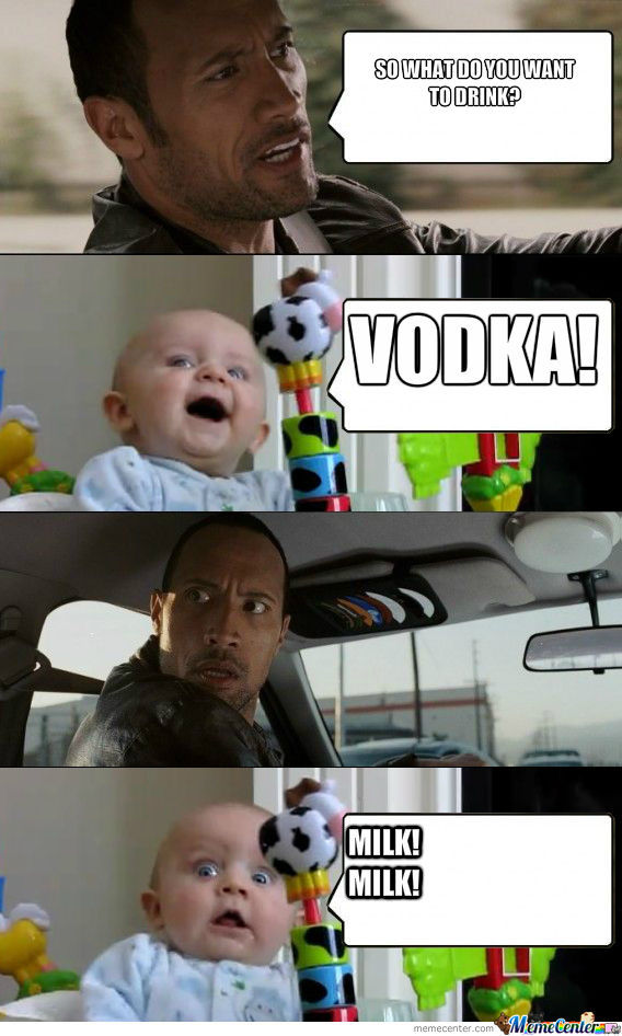 Some Vodka!