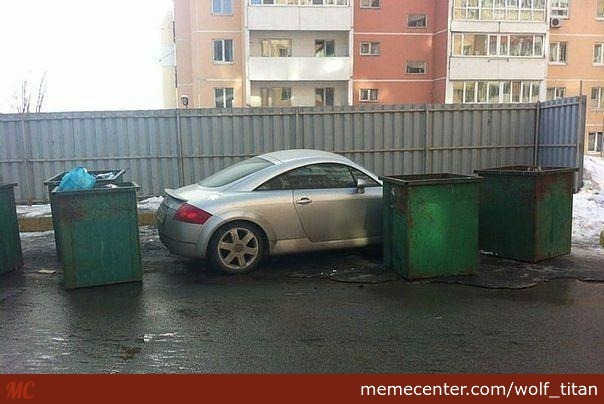 somebody threw out a audi tt russia_o_2793113 somebody threw out a audi tt ( russia ) by wolf_titan meme center