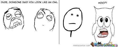 Someone Said You Look Like An Owl