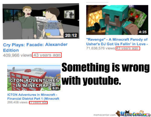 Something Is Wrong With Youtube.