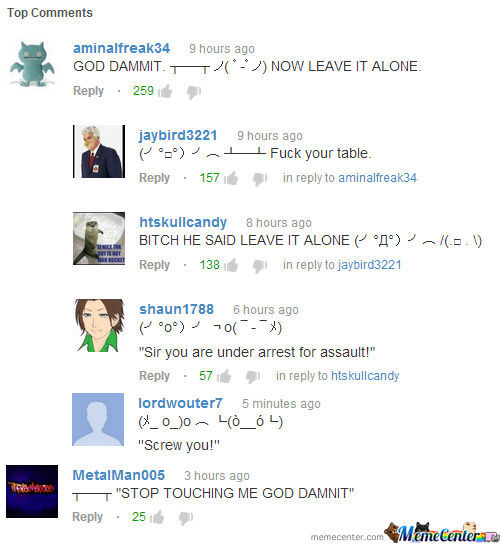 Sometimes, I Just Love Youtube Comments