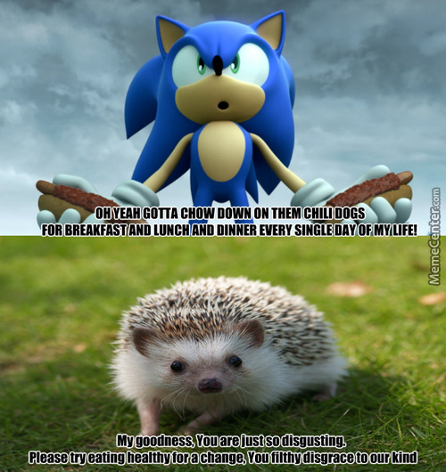 Sonic Needs To Go On A Diet