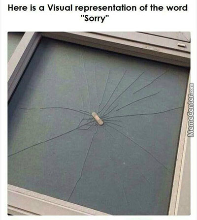 Sorry My Ass