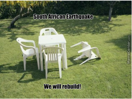 South Africa Hit With A 5.3 Scale Earthquake.