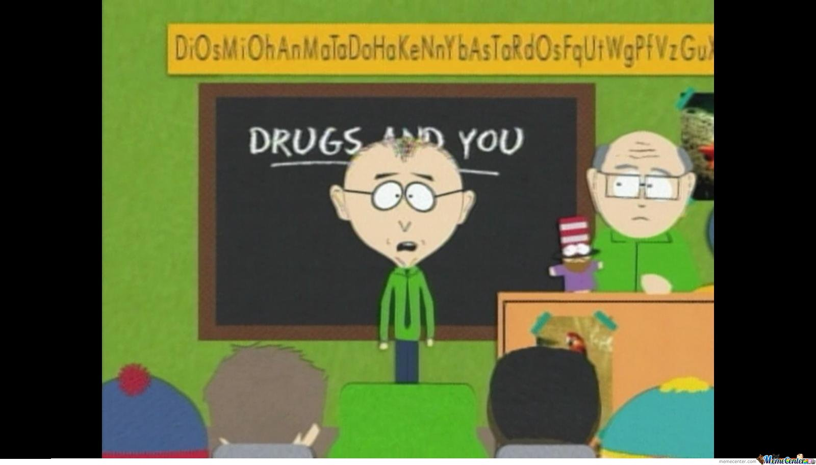 South Park Easter Egg. The Sign Above The Board Say